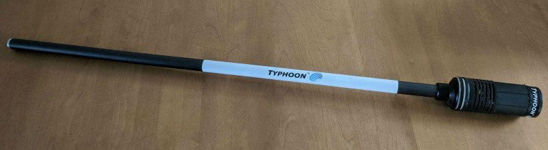 An image of the ZoomBroom Typhoon Initial Prototype - ZoomBroom