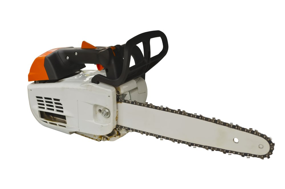 An image of an electric pole saw, which made the list for one of the best pieces of outdoor equipment to have in 2022.